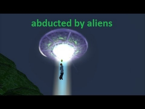 The Sims 4 Get To Work- Abduction By Aliens, Male  Pregnancy