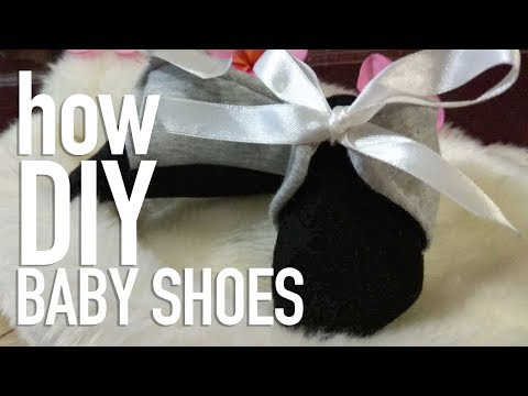 DIY BABY SHOES Sewing
