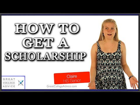 How To Get A Scholarship - Great College Advice