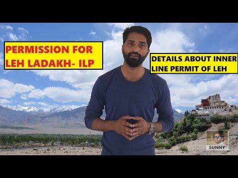 Permission of LEH LADAKH- Inner line Permit Details