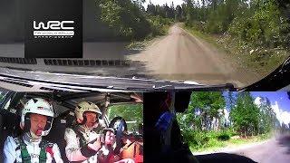 WRC - Neste Rally Finland 2017: ONBOARD Hänninen SS24