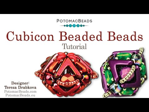 Cubicon Beaded Beads (Tutorial)