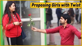 Proposing Girls Prank with Twist   The HunGama Films