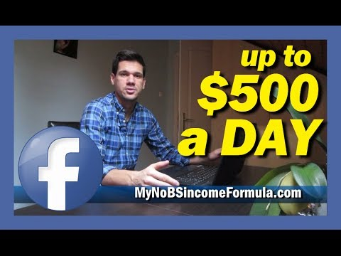How To Make Money On Facebook Fan Page Within 24 hours No Ads - $500 a Day