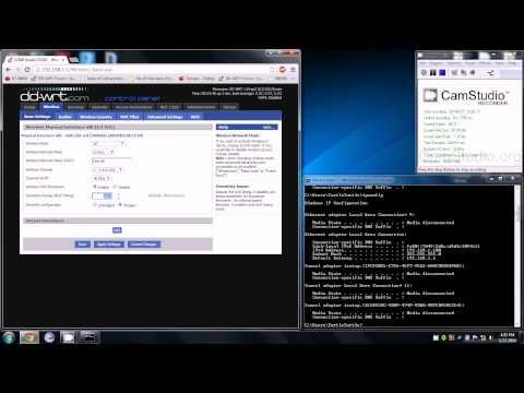 DD-WRT How to set-up an Access Point (AP)