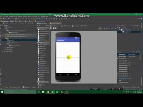 How to use image button with Android Studio to do anything