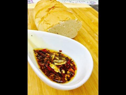 How To Make Chilli Olive Oil (Olio di Peperoncino Piccante) for Pizza Recipe