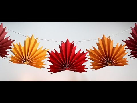Maple Leaf Bunting Assembly