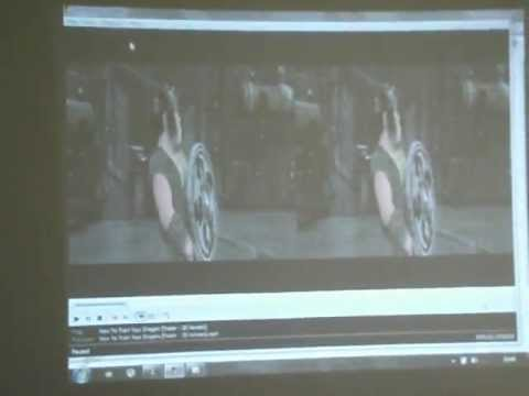 How to watch 3d in 3d ready projector part 2