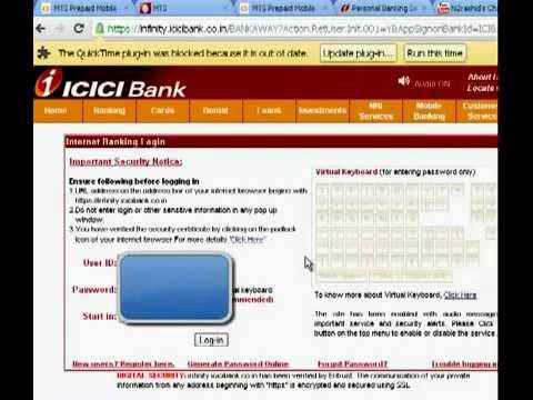 Bank ifsc code for ICICI bank