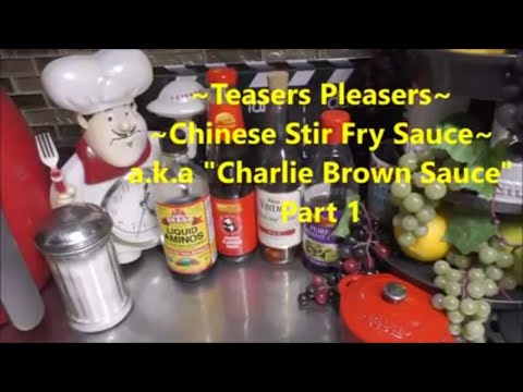 ~Copycat of Chinese Stir Fry Sauce~ Part 1