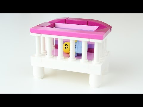 How to Build: LEGO Baby Girl's Crib