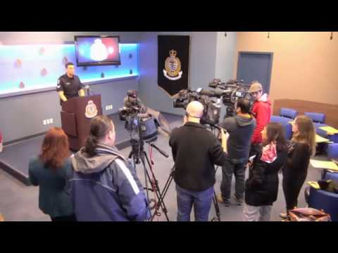 Vancouver Police Press Conference: Man on Fire at McDonalds