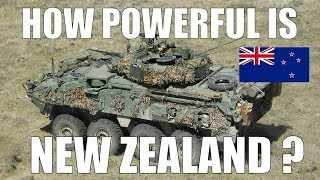 HOW STRONG IS NEW ZEALAND ? | MILITARY POWER