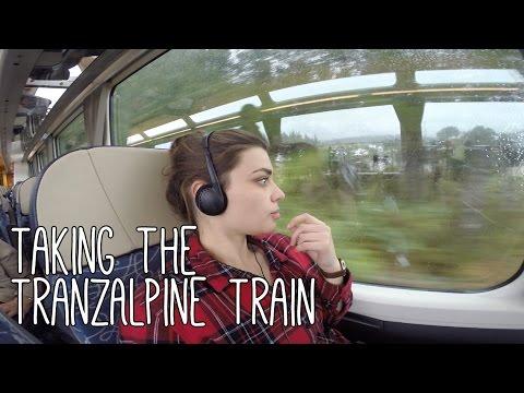 Taking the TranzAlpine Train