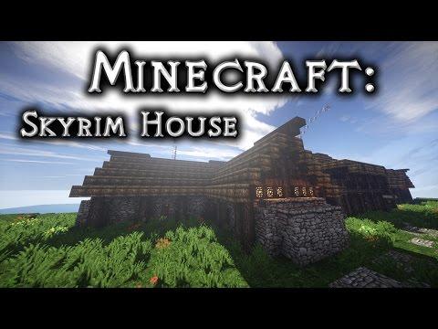Minecraft: Skyrim House 3 Tutorial
