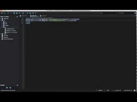 Codeigniter, call CSS & JS