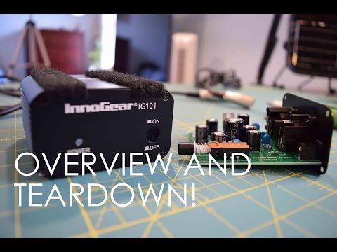 InnoGear IG101/I229 48V Phantom Power Supply Overview and Teardown