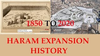 Mecca (Makkah) Haram Shareef Expansion History