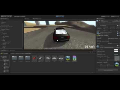 Racing game from the scratch in Unity 3D