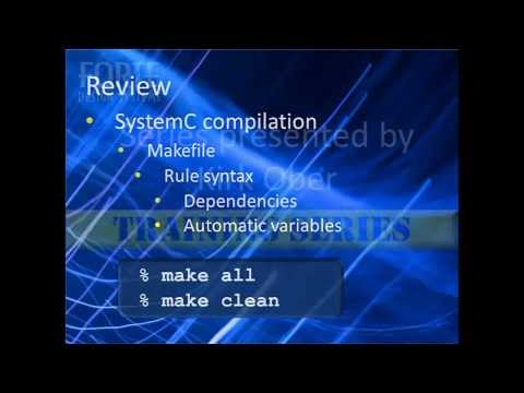 Learn SystemC (6) - Compiling and Running Simulations