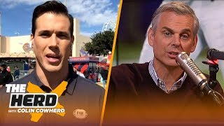 Brady Quinn details Notre Dame's success with Brian Kelly, talks Red River Showdown | CFB | THE HERD