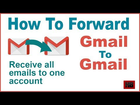 How to forward One Gmail account to another Gmail Account | How to forward Gmail | Forwarding Gmail