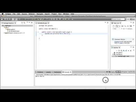 Eclipse Demo: Run Configuration - Georgia Tech - Software Development Process