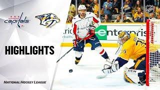 Capitals Predators 101019 Highlights