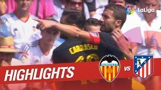 Resumen de Valencia CF vs Atlético de Madrid (0-2)