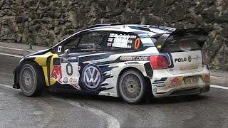Marcus Grönholm at Rally Legend 2016 - VW Polo R WRC Pure Sound!!