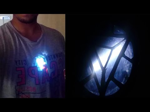 This is How I made Iron Man Arc Reactor  |   DIY