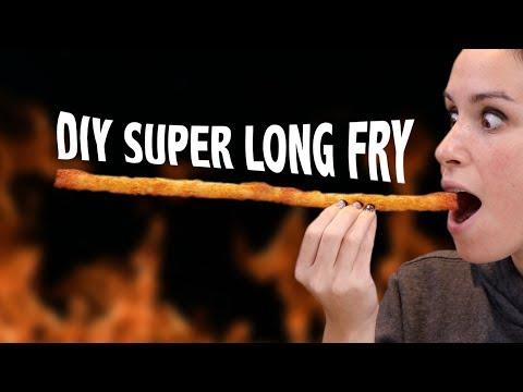 DIY SUPER LONG FRENCH FRY - VERSUS
