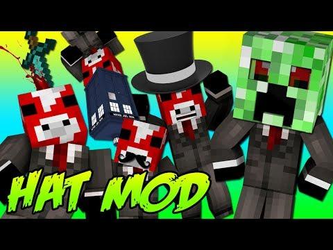 Minecraft Mods : The Hat Mod
