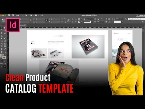 Clean Product Catalog for Adobe InDesign