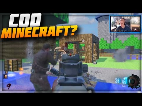 MINECRAFT IN CALL OF DUTY?!\