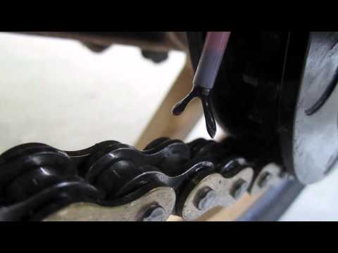 DIY Oiler for Motorcycle Chain: Lubrication of the chain
