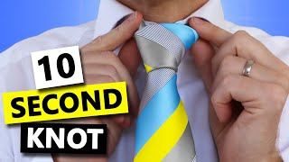 How To Tie A Tie Super Fast And Easy