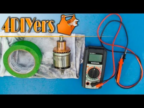 DIY: How to Test an Armature of a Motor