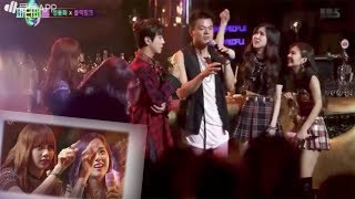 Blackpink helps Yonghwa and JYP at JYP's party people | 170813