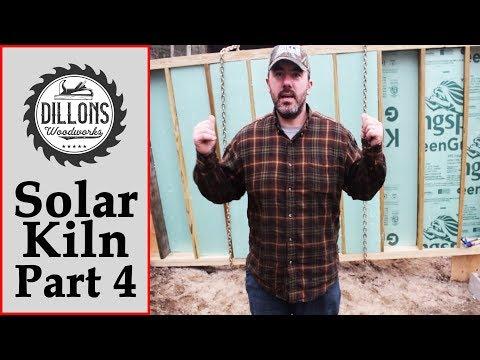 Solar Kiln Build Part 4 - Floor Insulation