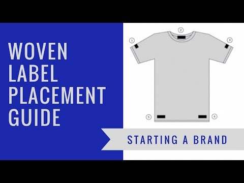 Indispensable Woven Label Placement Guide