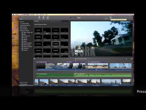 New! iMovie 10.0 Audio Tutorial Mavericks
