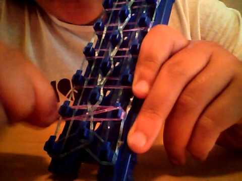 How to make a Crazy Loom ladder bracelet
