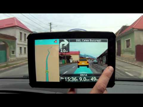 Follow Me™ augmented reality navigation, test drive (ROUTE 66)
