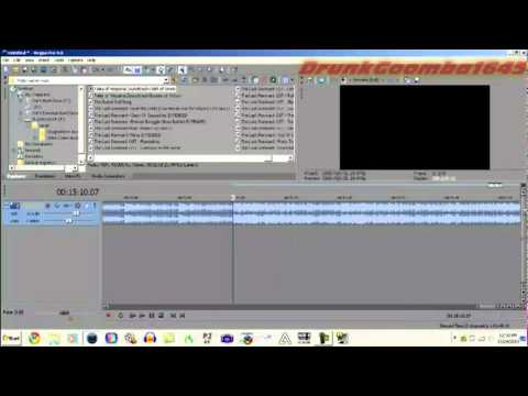 How to Make an Extended Version of a Video Game Song in Vegas Pro 9