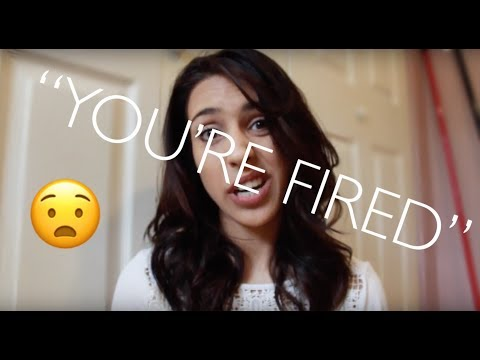 ANXIETY GOT ME FIRED . . . TWICE! {story time}