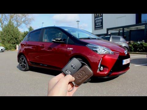 2017 Toyota Yaris Hybrid - POV Test Drive