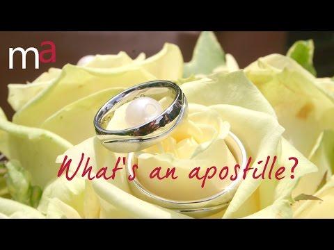 What's An Apostille?