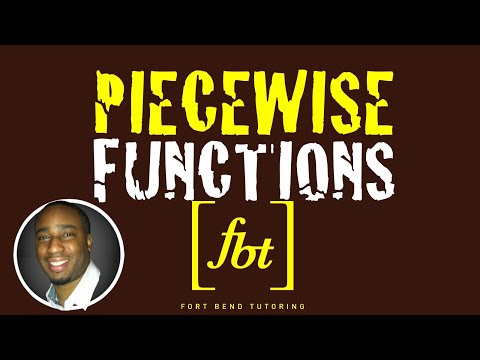 Graphing Piecewise Defined Functions [fbt] (How to Graph Piecewise Functions)